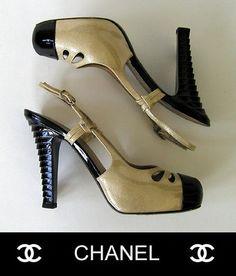 Chanel  Patent Slingback Platform Pumps Pretty Shoes, Beautiful Shoes, Marilyn Monroe Shoes, Chanel Shoes, Coco Chanel, All About Shoes, Classic Style Women, Shoe Art, Platform Pumps