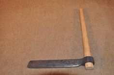Hand forged custom made tools for wood workers
