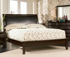 California King bed from Already Furnished.
