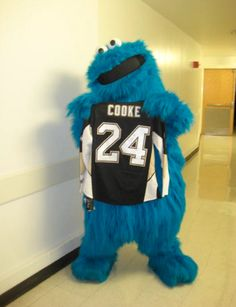 COOKE Monster!!!  GO PENS!