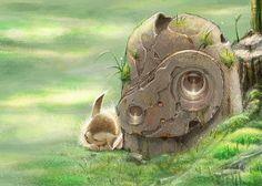 Laputa - Studio Ghibli