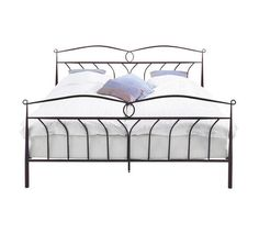 Posteljni okvir v matirani črni barvi iz nerjavečega jekla vas bo popeljal na prefinjeno toskansko podeželje. //  A matt black stainless steel bed frame will take you to the sophisticated Tuscan countryside. Cool Things To Buy, Shabby Chic, Bedroom, Furniture, Home Decor, Houses, Bed Room, Black, Cool Stuff To Buy