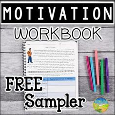 Motivation Workbook Free Sample by Pathway 2 Success Motivational Skills, Motivational Interviewing, Autism Activities, Work Activities, Special Education Teacher, Teacher Resources, Teacher Tips, Social Emotional Learning, Social Skills