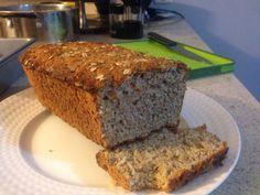 Pan integral con avena. Whole wheat oatmeal bread.