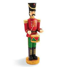Animated Drummer Soldier so want these for Christmas 12 Days Of Christmas, Christmas Holidays, Merry Christmas, Christmas Ornaments, Outdoor Christmas Decorations, Holiday Decor, Holiday Ideas, Soldier Love, Festival Decorations
