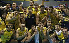 Seleção masculina de vôlei tetracampeã mundial
