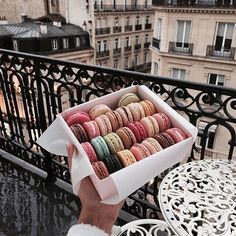 food, colors, and paris kép