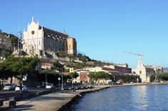 Gaeta . . . along the sea wall...eating gelato, strolling the waterfront.  A very special place.