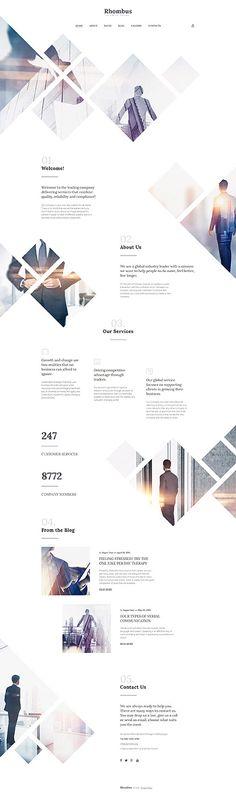 $75 - Rhombus #Business #Responsive #Joomla #Template  Buy : http://www.themecrea.com/joomla-templates-type/57783.html