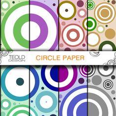"DIGITAL CIRCLE SCRAPBOOKING invitations paper digital various colors 12x12"" 300 dpi di CreativePaperDigital su Etsy https://www.etsy.com/it/listing/216850713/digital-circle-scrapbooking-invitations"