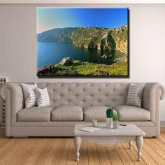 Clare - Cliffs of Moher Canvas Print Wall Art Wall Art Prints, Canvas Prints, County Clare, Cliffs Of Moher, Thing 1, Bedroom Murals, Donegal, 1 Piece, 10 Days