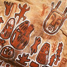 #Africa : Art sur roche au Mali. Rock art in Mali.