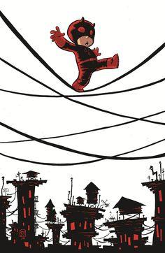 Daredevil by Skottie Young