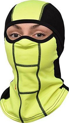 GearTop Cagoule complète avec cache-cou pour moto et vélo  Tête, visage et dd24db763c1