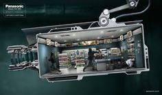 Panasonic CCTV on the Behance Network