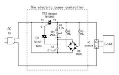 Electric power controller in 2019 Ac Circuit, Circuit Diagram, Electronics Basics, Electronics Projects, Hack Internet, Ac Fan, Power Supply Circuit, Electrical Switches, Audio Amplifier