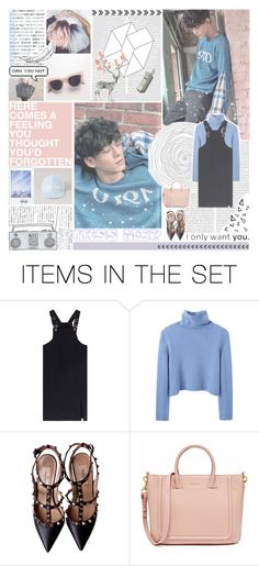 """♯ FEELING ♯"" by taerrible ❤ liked on Polyvore featuring art, kpop, magazine, EXO, chen and jongdae"