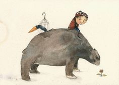 Piet Grobler Children's Book Illustration, Watercolor Illustration, Illustration Children, South African Artists, Freelance Illustrator, Paint Designs, Illustrators, Whimsical, Elephant