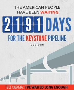 Six years later and nothing has been done. Tell Obama it's time to unlock American-made energy & jobs.