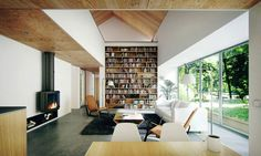 The eco-friendly timber cottage can be expanded at low cost by adding modules. Photograph: Aughey O'Flaherty