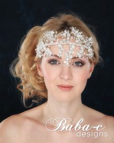 Statement headpiece for those making an entrance.