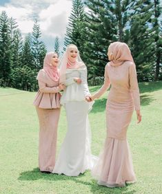 Dresses Hijab Prom Dress, Hijab Gown, Kebaya Hijab, Muslimah Wedding Dress, Kebaya Dress, Kebaya Muslim, Hijab Wedding Dresses, Muslim Dress, Bridesmaid Dresses