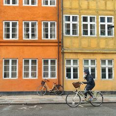 Copenhagen is a great place for my #bikesofeurope hashtag :)