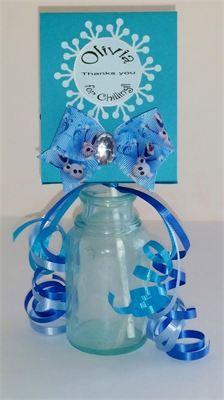 Frozen Party : Frozen Party Lollipop wrapper- custom label