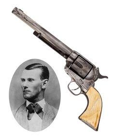 Jesse James' Colt Revolver leads Heritage Legends of the West sale