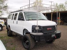 Boulder Offroad 4x4 Van Custom Conversions - Racks and Carrierswe are still updating photos!