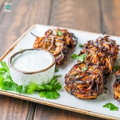 These Slimming World Syn Free Onion Bhajis have the same characteristics as their Indian takeaway brothers, but much more Slimming World friendly!
