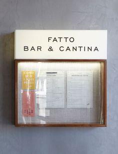 Ideas For Exterior Restaurant Signage Bar Shop Signage, Restaurant Signage, Restaurant Identity, Retail Signage, Wayfinding Signage, Signage Design, Menu Design, Restaurant Design, Restaurant Ideas