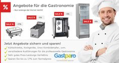 Jetzt reduzierte Geräte für die Gastronomie kaufen und sparen! http://www.gastparo.de/top-seller-gastronomie-bedarf-guenstig