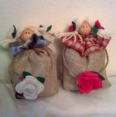 bamboline al profumo di lavanda