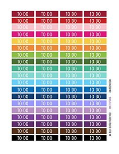 Monthly Planner Stickers Rainbow To Do Header Stickers Planner Labels Compatible with Erin Condren Vertical Life Planner INKtropolis http://www.amazon.com/dp/B016HF2E64/ref=cm_sw_r_pi_dp_5-5iwb01WX2GZ/ $7.75 free ship