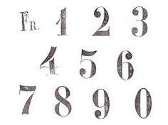 「かわいい 数字 フォント」の画像検索結果
