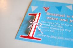 Fazendo a Minha Festa Infantil: Convite com Velinha!
