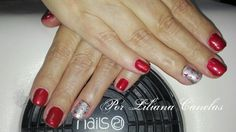 red nails... christmas