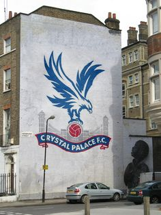 Making our urban-hood our urban canvas. All Things Crystal, Crystal Palace Fc, Afc Bournemouth, British Football, Sir Alex Ferguson, Football Pictures, Urban Art, Street Art, Artwork