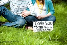 a674eea4 I LOVE YOU To The Moon And Back Sign, Shabby Chic Sign, Rustic Sign,  Wedding Prop, Baby Shower Gift, Vintage Sign, Maternity Photo Prop