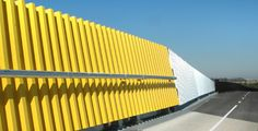 plastic sound barrier wall