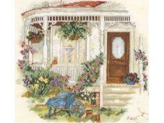 THE HOUSE THAT LOVE BUILT - Paula Vaughan cross stitch kit