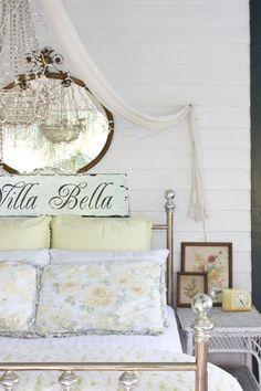 Villa Bella Italian BEAUTIFUL HOME sign by castleandcottage