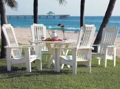 Uwharrie Chair Hatteras Collection Patio Furniture.  Would the backrest be comfortable?