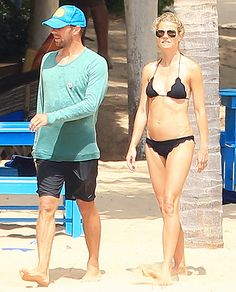 """One year after they famously announced their """"conscious uncoupling,"""" amicable exes Gwyneth Paltrow and Chris Martin jetted off for a family vacation in Costa Careyes, Mexico earlier this week."""