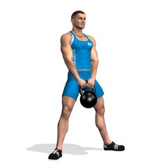 SUMO SQUAT KETTLEBELL INVOLVED MUSCLES DURING THE TRAINING GLUTES