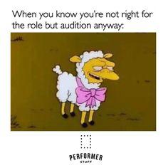 #quoteoftheday #theatre #auditions #acting#theatrelife #thespian #instatheatre #theatreislife #performerstuff #simpsons