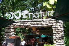 100% Natural Restaurant in Playa Del Carmen. SOOO GOOD. We left the resort to eat here a few times!