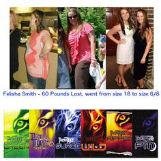 Purple Tiger works! Contact Jim@4JsHealth.com for info on Samples, Products, and/or the Business. Felisha Smith lost 60 pounds and went from a size 18 to a size 6/8.