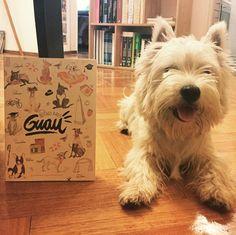 Miren lo que me regalo mi amiga @meliscioli !! La guía #BuenosAiresGuau de lugares pet friendly en Buenos Aires! Gracias! #perroreal #proyecto4patas #faunaquerida #perrosenbuenosaires #livelifewithyourdog #lovemydog #westie
